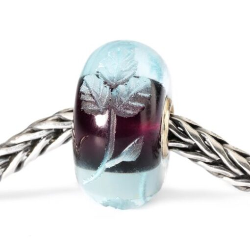 TGLBE-20006 Beads Trollbeads Intarsio Azzurro in vetro