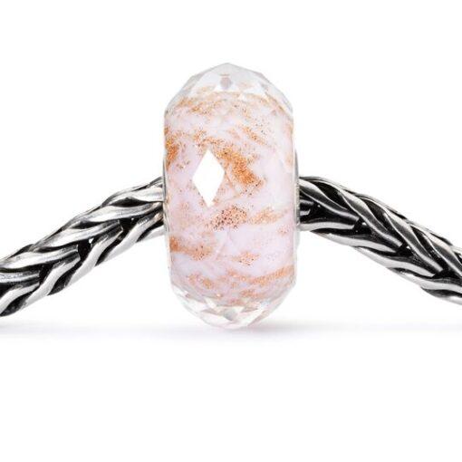 Novità Trollbeads - beads in vetro Cuore di Ciliegio TGLBE-30016