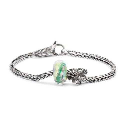 Offerta Beads Trollbeads Silenzio della Natura in vetro TGLBE-30031
