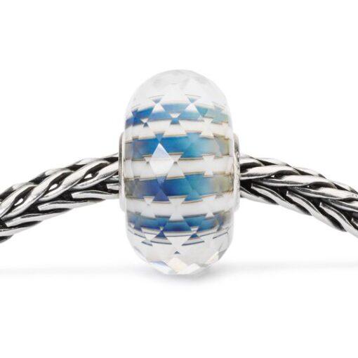 Offerta Beads Trollbeads Cielo Infinito in vetro TGLBE-30032