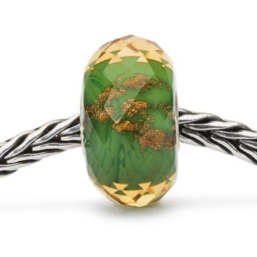 Offerta Beads Trollbeads TGLBE-30040 Scintilla della Fortuna in vetro