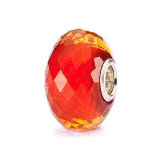 Offerta Beads Trollbeads TGLBE-20006 Zafferano Sfaccettato in vetro