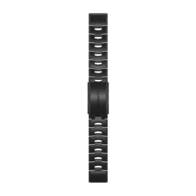 Garmin bracciale per orologio QuickFit 22 mm in titanio DLC grigio carbone 010-12863-09