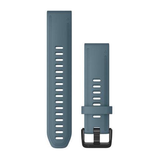 Garmin cinturino per orologio QuickFit 20 mm Silicone Blu Fenix 6s 010-12870-00