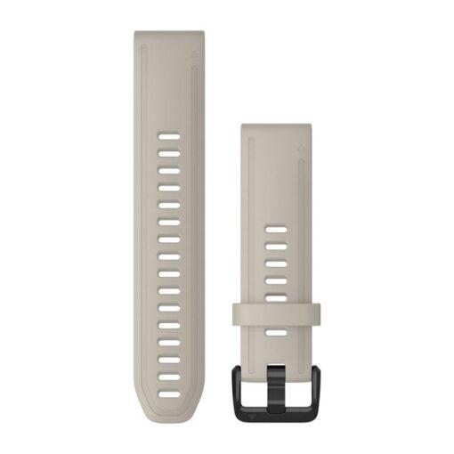 Cinturino per orologio Garmin QuickFit 20 mm Silicone Sabbia Fenix 6s 010-12869-00