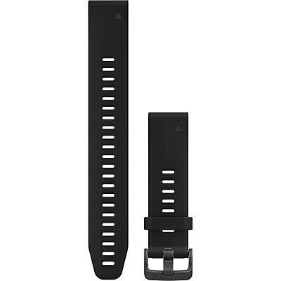 Garmin cinturino QuickFit 20 mm nero texture righe 010-12739-07