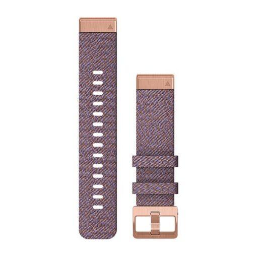 Garmin cinturino orologio QuickFit 20 mm nylon viola Fenix 6s 010-12873-00