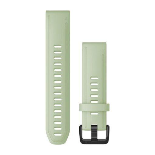 Garmin cinturino orologio QuickFit 20 mm silicone color menta Fenix 6s 010-12872