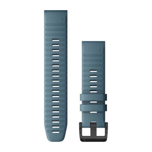 Garmin cinturino orologio QuickFit 22 mm silicone color blu Fenix 6 010-12863-03