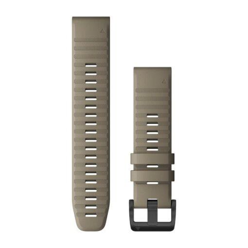 Cinturino Garmin QuickFit 22 mm silicone color sabbia Fenix 6 010-12863-02