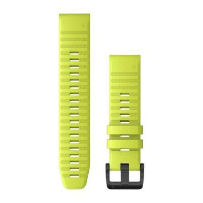 Garmin cinturino orologio QuickFit 22 mm silicone giallo fluo Fenix 6 010-12863-04