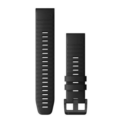 Garmin cinturino orologio QuickFit 22 mm silicone nero Fenix 6 010-12863-00