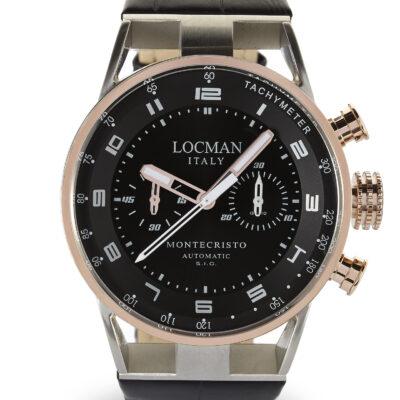 Locman cronografo automatico uomo, collezione montecristo 0514V13-RNBKWPSK
