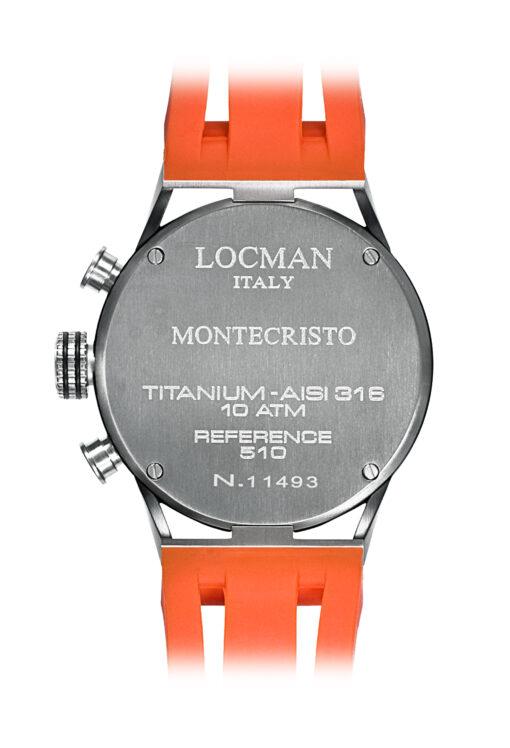 Orologi Locman uomo Montecristo Crono con trattamento PVD 0510KNBKFOR0GOO