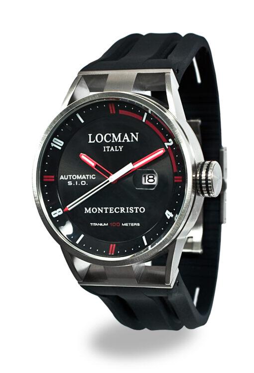 Locman orologio uomo Montecristo automatico solo tempo 051100BKFRD0GOK