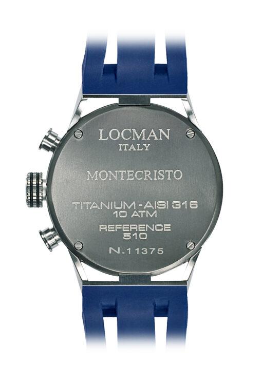 Orologi Locman uomo Montecristo Crono 051000BKFBL0GOB