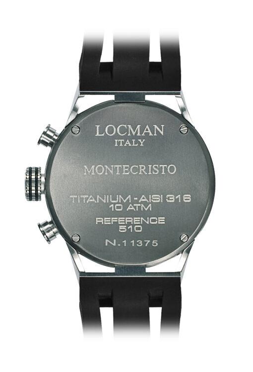 Orologi Locman uomo Montecristo Crono 051000BKFBL0GOK