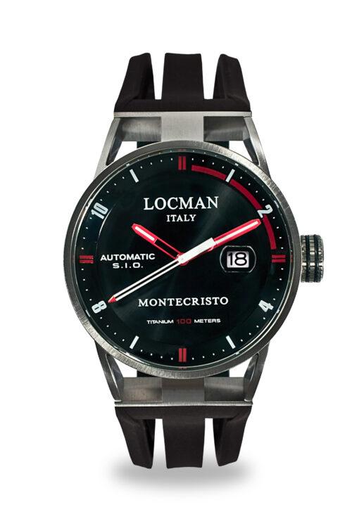 Orologi Locman Montecristo Solo Tempo Acciaio e titanio 051100BKFRD0GOK