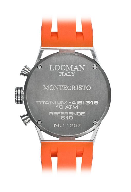 Orologi Locman uomo Montecristo Crono 051000BKFOR0GOO
