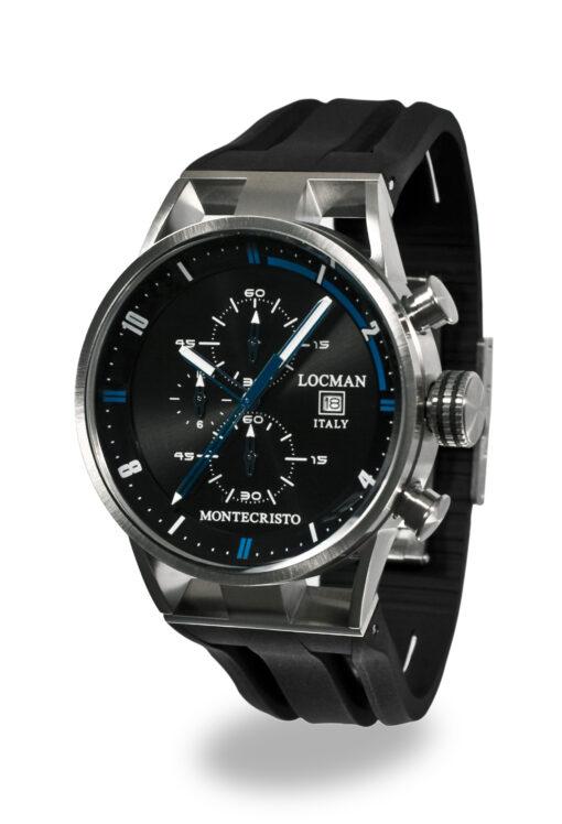 Locman cronografo Montecristo Acciaio e Titanio 051000BKFBL0GOK