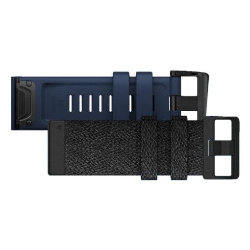 Promo Cinturini Garmin Nylon Black 010-12864-07 e Blue Captain 010-12864-22