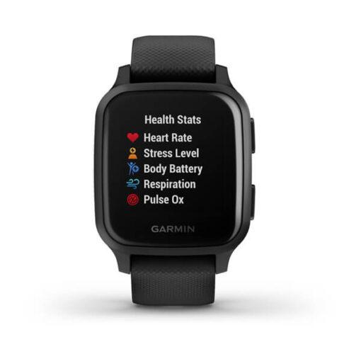 Venu® Sq - Music Edition Garmin Smartwatch Black Slate 010-02426-10