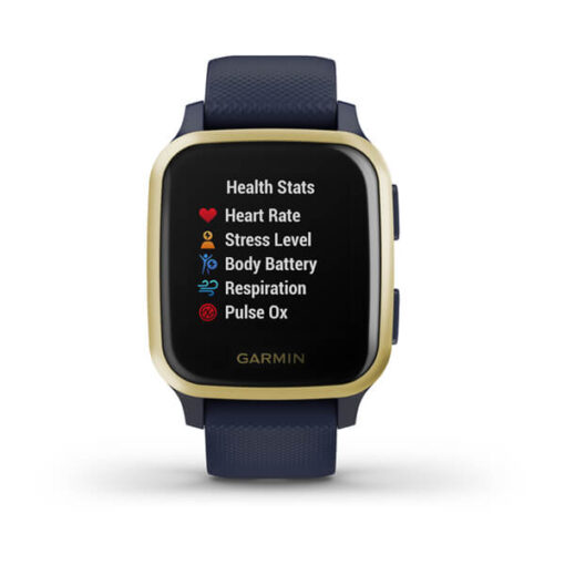 Offerta Smartwatch Garmin Venu® Sq - Music Edition Navy Light Gold 010-02426-12