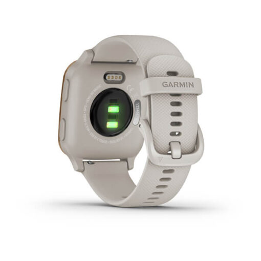 Novità Garmin Venu® Sq - Music Edition Light Sand Rose Gold 010-02426-11