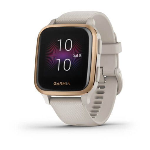 Garmin smartwatch Venu® Sq - Music Edition Light Sand Rose Gold 010-02426-11