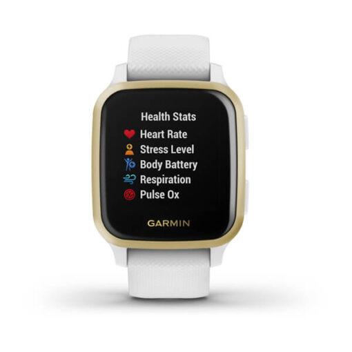 Garmin smartwatch Venu® Sq White Light Gold 010-02427-11