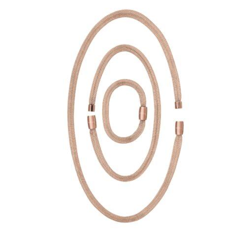 Soft Set 3 elementi Breil Collana Donna Magnetica System Rose Gold TJ2972
