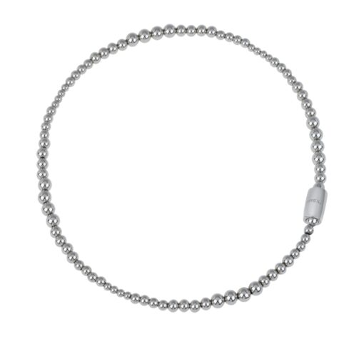 Magnetica System girocollo da donna in acciaio, Medium Moon TJ2933