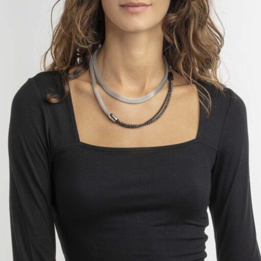 Offerta collana Breil Donna Magnetica System XL Soft componibile
