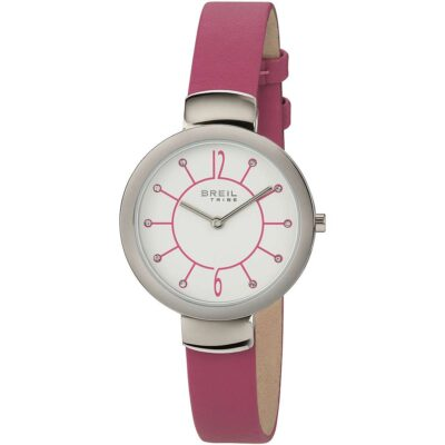 Offerta orologio Breil donna solo tempo in pelle fucsia EW0386