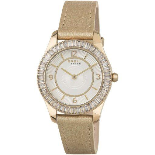 Offerta orologio Breil donna solo tempo in pelle Chantal Offerta orologio Breil donna solo tempo in pelle light gold EW0389