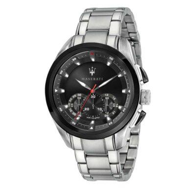 Offerta orologio Maserati uomo, collezione Traguardo in acciaio R8873612015