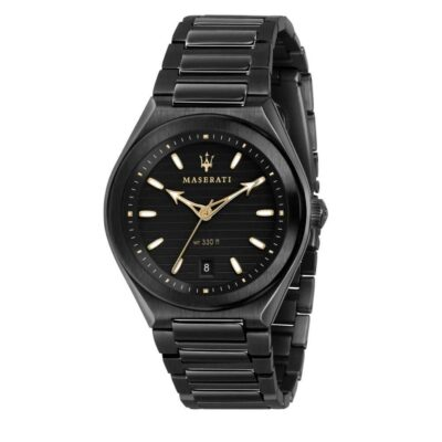 Maserati Tritonic, orologio uomo acciaio PDV nero R8853139004