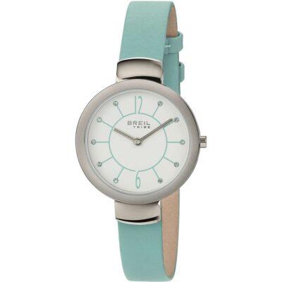 Offerta orologio Breil donna solo tempo in pelle azzurra EW0384