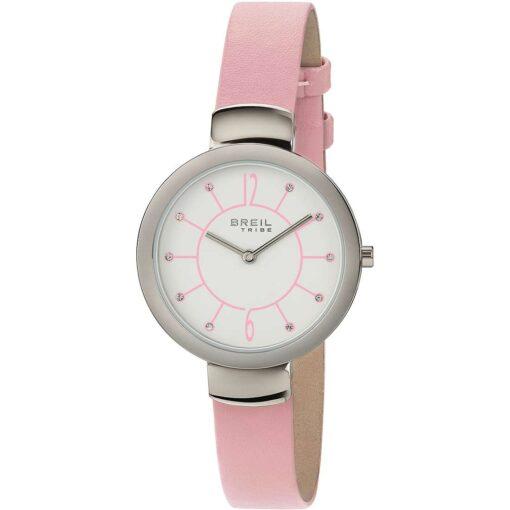 Offerta orologio Breil donna solo tempo in pelle Offerta orologio Breil donna solo tempo in pelle rosa EW0387