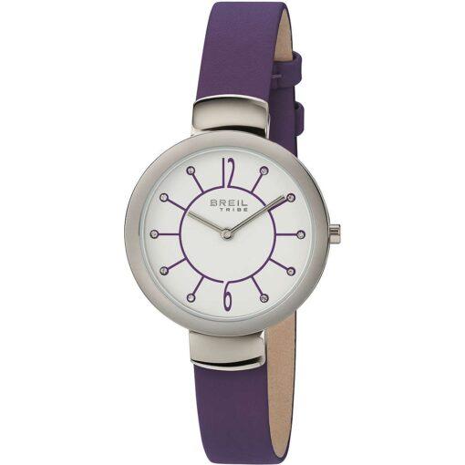 Offerta orologio Breil donna solo tempo in pelle viola EW0385