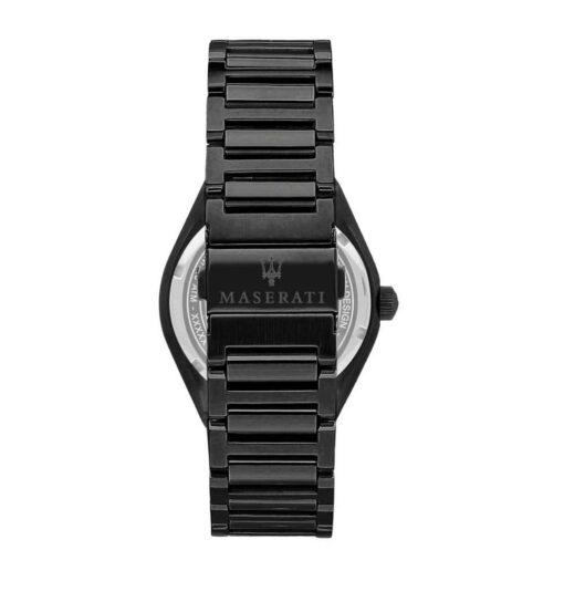 Orologio da uomo Maserati, modello Tritonic, in acciaio colore nero R8853139004