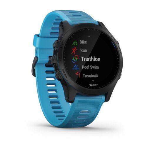 Smartwatch da corsa Garmin Forerunner 945 nero/blu 010-02063-11