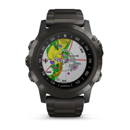 Orologio Garmin Pilot Aviator D2 Delta PX Aviator Watch Titanio 010-01989-31