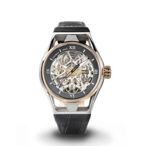 Orologio Locman - modello Montecristo skeleton- offerta - sconto - orologio di classe - orologio da immersione - locman - gioelleria cuatto - bussoleno - provincia di Torino